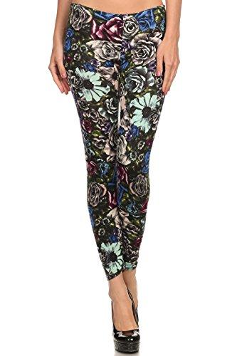 Velour Fashion Leggings - 8