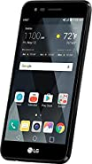 "LG M150 Prepaid Carrier Locked - 5"" Screen - 16GB - Black (International Version - No Warranty)"