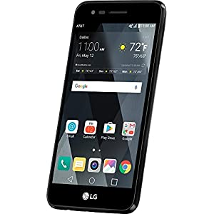 AT&T GoPhone LG Phoenix 3 4G LTE with 16GB Memory Prepaid Cell Phone – Black