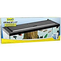 Tetra LED Aquarium Hood, Low Profile, Energy Efficient, 30 inch