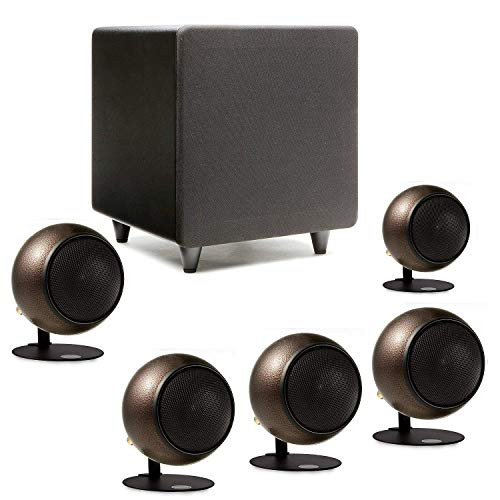 Orb Audio: Mod1 Mini 5.1 Home Theater Speaker System - Surround Sound System - Includes 5 Orbs and 9'' Subwoofer...