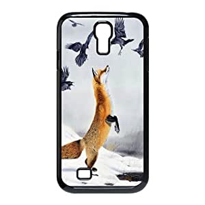 Fox Art Pattern Hard Case Cover for Samsung Galaxy Case S4 HSL400063