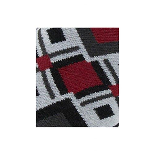 Achile e piste lana Calze rosso cotone in di rxvUrwH
