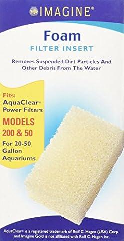 Imagine Gold Llc AIM71613 Aquaclear 50 Foam Insert
