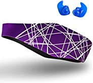 Qshare Swimming Headband – Best Design Ear Band to Protect Swimmer's Ears, Doctor Recommended to Keep Wate