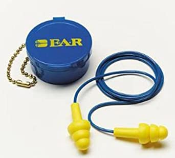 Alimed Ear Plugs Corded One Size Yellow, 200 Per Case