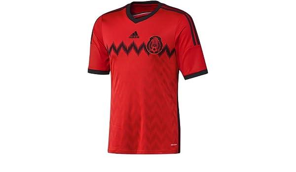 Amazon.com  adidas Mens Mexico Away Jersey World Cup 2014  Sports   Outdoors de565ccad