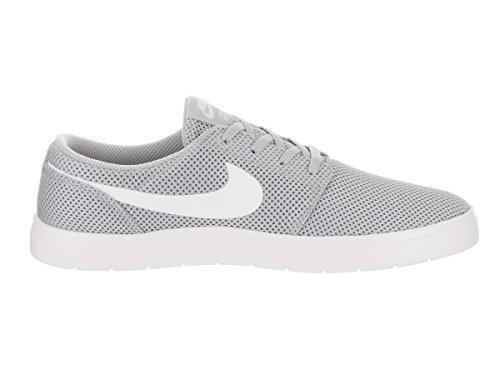 Nike Mens Sb Portmore Ii Ultralätt Skatesko Wolf Grå / Vit