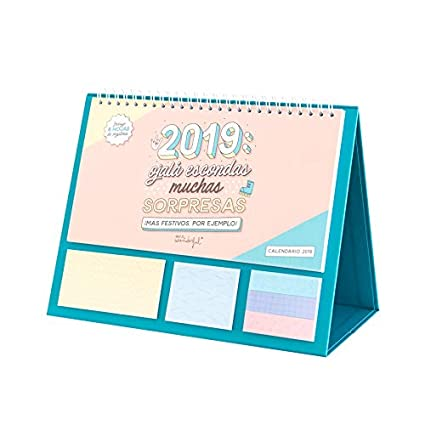 Mr. Wonderful - Calendario de sobremesa línea rota 2019: Amazon.es ...
