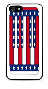 Piano Keys American Flag Black Hardshell Case for iPhone 5 / 5S by icecream design
