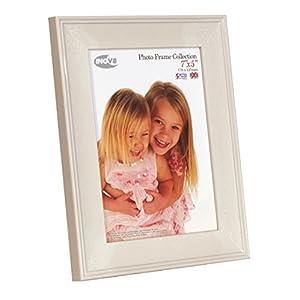 Inov8 British Made Picture/Photo Frame, 7X5 Inch, Austen Light-Grey, Pack Of 4