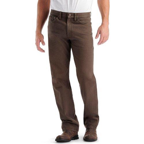 (LEE Men's Regular Fit Straight Leg Jean, Walnut, 29W x 32L)