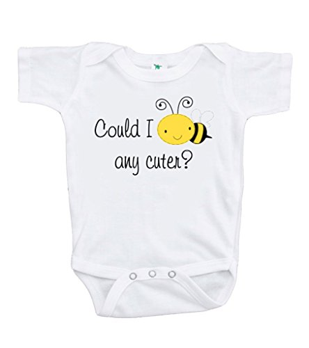 Custom Party Shop Baby's Could I bee any cuter? Onepiece 12-18 Months Yellow and Black