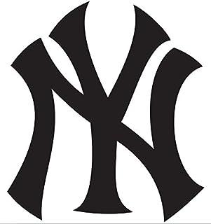 amazon com new york yankees logo mlb white decal vinyl sticker rh amazon com daddy yankee logo font