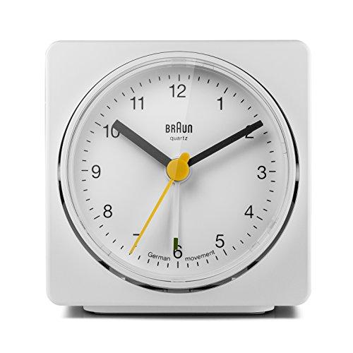 Braun BNC011WHWH Quartz Alarm Clock