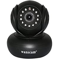wanscam HW0021 HD Wireless IP Camera P2P 2-way Audio Night Vision Support TF Card Home Security Camera Free APP