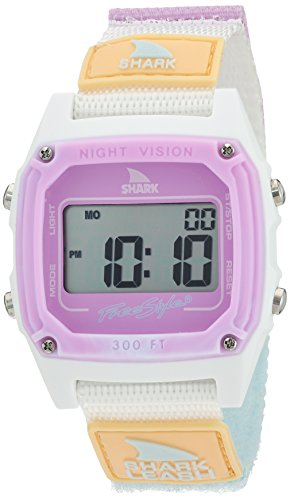Freestyle Shark Japanese-Quartz Sport Watch with Nylon Strap, White, 20 (Model: -