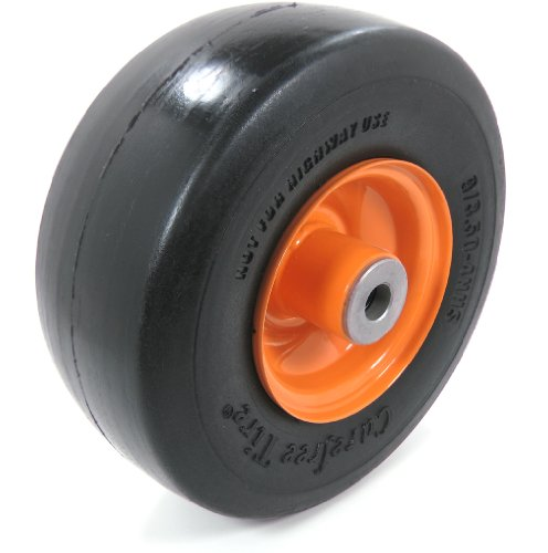 Solid Flat Free Front Wheel Fits Scag 32, 36, 48, 52