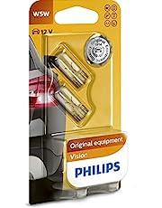 Philips 12961B2 Żarówka Samochodowa W5W, 12V, 5W, 2 Sztuki