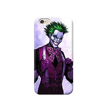 Funda Carcasa Cover TPU para Todos los Modelos de Apple iPhone x 8 7 6 6 Plus 5 5s 4 4s 5c si - U05 Joker, iPhone 7 Plus