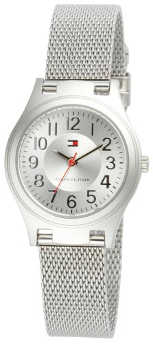 Tommy Hilfiger Women's 1780690 Silver-Tone Mesh Watch