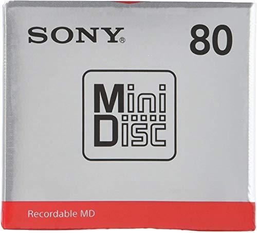 [5 Pcs Set] Sony MD80 Blank Mini Disc 80 Minutes