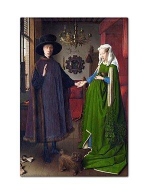 The Arnolfini Wedding Portrait Fridge Magnet ()