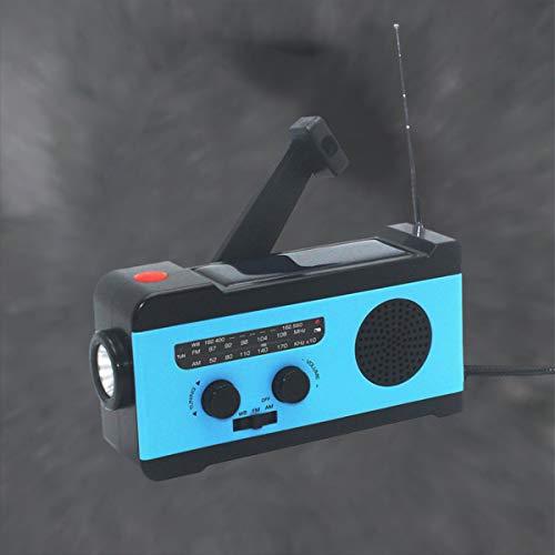 VOSAREA Portable Radio FM Receiver Emergency Radio with Alarm Clock FM Radio FM Receiver by VOSAREA (Image #2)