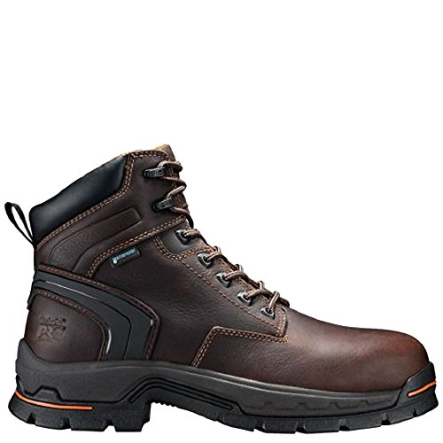 Shoe PRO Industrial Toe and Construction Men's Stockdale Waterproof Timberland Alloy Brown 6