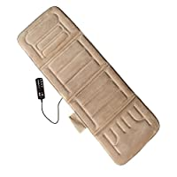Comfort Products 10-Motor Massage Plush Mat with Heat