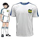 T-shirt newteam Blanc/Bleu–Oliver atom-