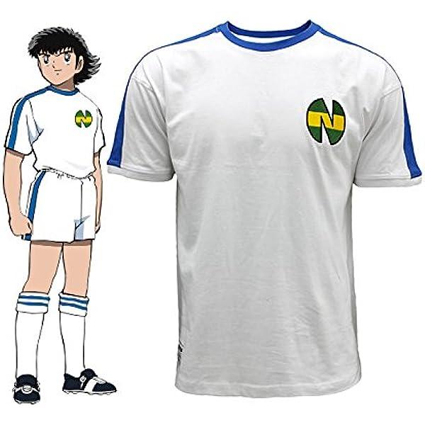 Camiseta Newteam BlancoAzul Oliver Atom : Amazon.es