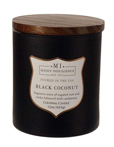 Manly Indulgence Black Coconut 15 oz Scented ()