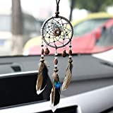 Blue Stones With Shell Dream Catcher Car Pendant Home Ornaments Innovative Gifts Wind Chimes Dreamcatcher Natural Feathers Wall Hangings