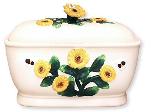 Tuscany 3D Sunflower Bread (Painted Bread Box)