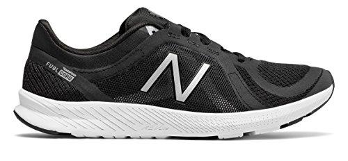 文明化するキャンプバケツ(ニューバランス) New Balance 靴?シューズ レディーストレーニング FuelCore Transform v2 Mesh Trainer Black with Silver ブラック シルバー US 9.5 (26.5cm)