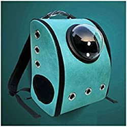 Pet Bag Cat Dog Carrier Spaceship Bag Capsule Backpack Box (Sky)