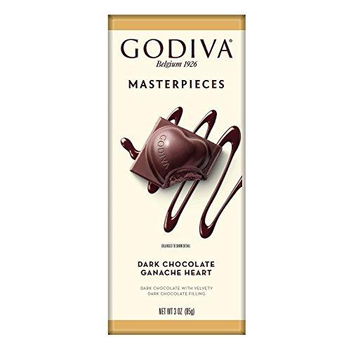 Godiva Chocolatier Dark Chocolate Ganache Heart