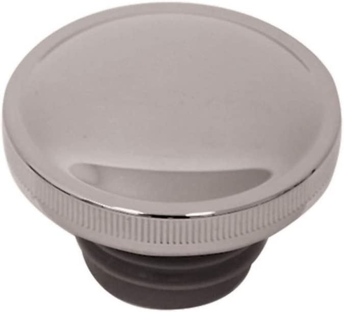 V-Factor Chrome Steel Ratcheting Right Side Vented Gas Cap # 80019