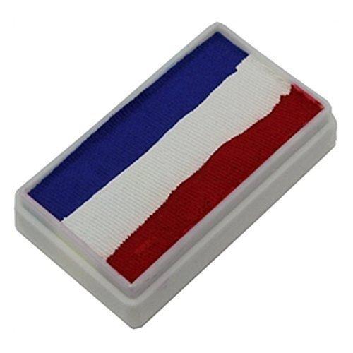 TAG 1-Stroke Split Cakes - 3 Color Red/White/Blue (30 gm) -