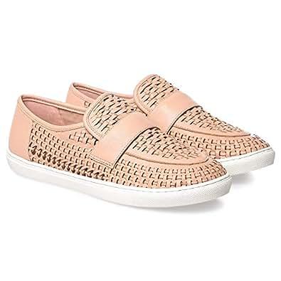 JSLIDES Slip On Shoes for Women, Blush
