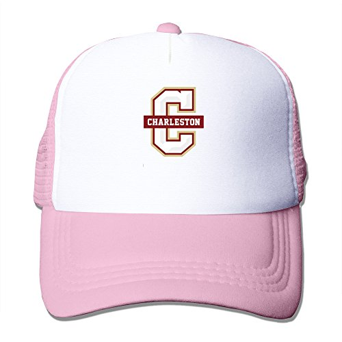 Charleston Cougars Baseball - College Of Charleston Cougars Basketball Primary Logo Pink Snapback/trucker/ Baseball Adjustable Hat