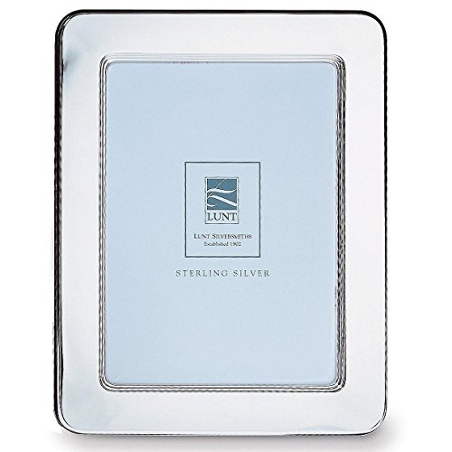 - Lunt Gallery Sterling Picture Frame, 4 by 6-Inch