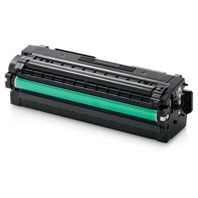 Samsung - Cltc506l Toner 3500 Page-Yield Cyan Product Category: Imaging Supplies And Accessories/Copier Fax & Laser Printer Supplies by Original Equipment Manufacture (Cyan Copier Page)
