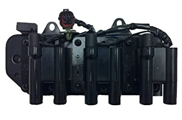 Amazon brand new ignition coil pack hyundai kia 27l 25l brand new ignition coil pack hyundai kia 27l 25l v6 complete oem fit sciox Gallery
