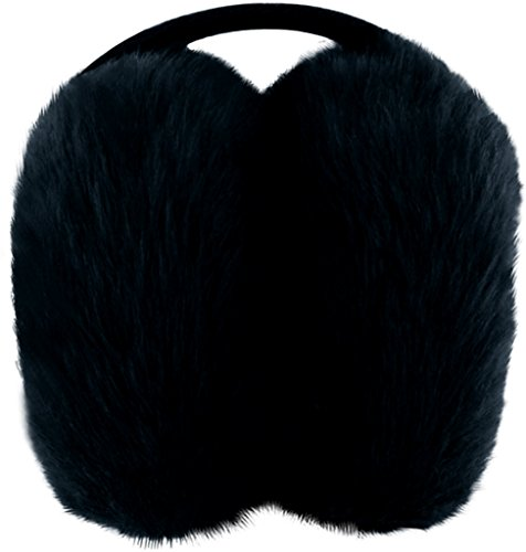 Posh Plush 1994383 Ear Puffs - Black by Posh Plush