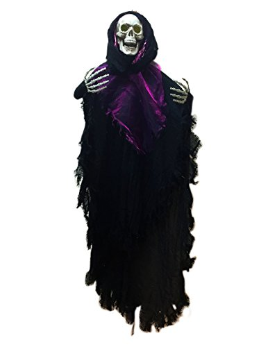 [Hanging Ghost Halloween Decoration Lights up Halloween Prop, the Perfect Outdoor Halloween Decor Party Idea To Enjoy Your Party More, Haunt Your Guests] (Scary Scarecrow Halloween Costumes)