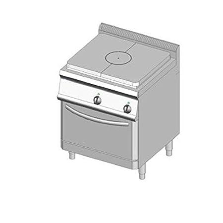 D.o.m. - hobs se placa Gas 70 x 70 con horno gas: Amazon.es: Hogar