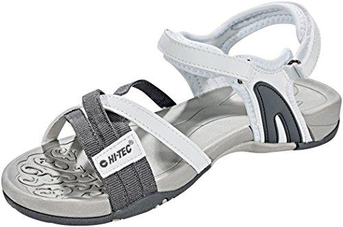 Hi-Tec Savanna II Sandals Women White/Grey Schuhgröße UK 7,5 | EU 41 2018 Sandalen