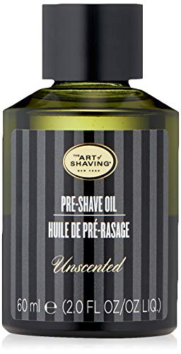 The Art of Shaving Preshave Oil, Unscented, 2 Ounce (Shaving Lemon Essential Oil)